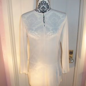 White Tunic top by Lauren Ralph Lauren EUC